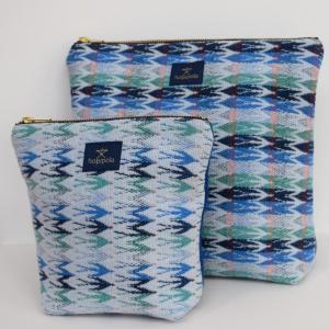 Kirsty Odds,  Flight of Swallows. Make-up bag20.5 x 20.5 x 8 cm Weekend bag30 x 28 x 10 cmNFS.