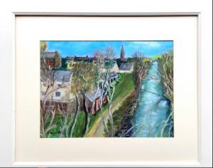 Anne Duncan (Perratt), East Linton30x42cm, acrylic on board, £120