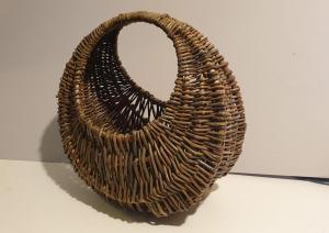 David Morris, Hoop Basket, willow, 35x35x20cm, NFS