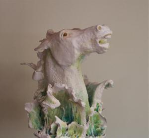 Angela Fotheringham, Each Uisage, porcelain clay, 21x14x10cm, NFS