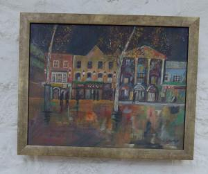 Highly Commended – Thelma Conacher,  Reflections,  Acrylic