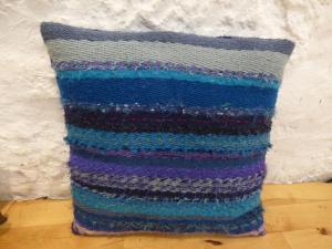 Poldrate Plaque  -  Della Rea – 4 shaft Weaving Cushion - WoolBest work in the fabric craft section