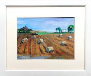 Anne Duncan (Perratt), West Fenton30x42cm, acrylic on board, £120